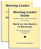 Back to the Basics of Recovery 2 Meeting Leader Guide Discount Pkg