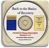 Back to the Basics of Recovery PowerPoint 2019 Presentation CD