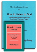 How to Listen to God Meeting Leader Guide + 1 Book