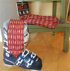 Boot Dragon boot warmers - Chili Peppers