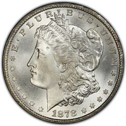 1878 Morgan Silver Dollars