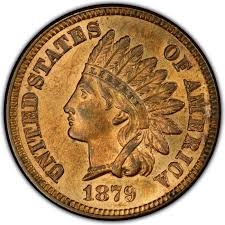 1879 Indian Head Penny