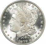 1879 Morgan Silver Dollars