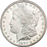 1880 Morgan Silver Dollars
