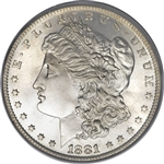 1881 Morgan Silver Dollars