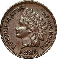 1883 Indian Head Penny