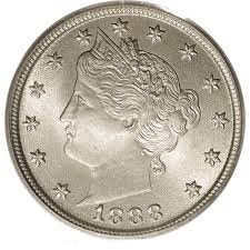 1888 Liberty Head V Nickel