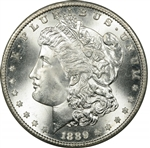 1889 Morgan Silver Dollars