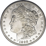 1892 Morgan Silver Dollars