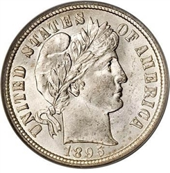 1895-P Barber Liberty Head Dime