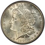 1896 Morgan Silver Dollars