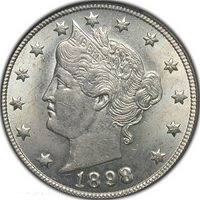 1898 Liberty Head Nickel