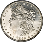 1898 Morgan Silver Dollars
