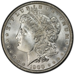 1900 Morgan Silver Dollars