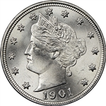 1901 Liberty Head Nickel