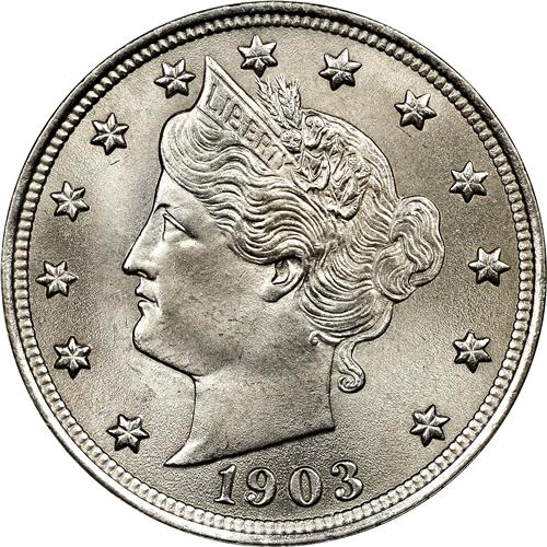 1903 Liberty Head V Nickel Fine SKU#38214