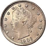 1906 Liberty Head Nickel