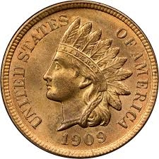 1909-S Indian Head Cents