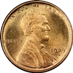 1909-S Wheat Penny