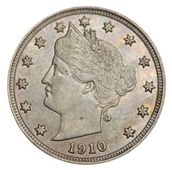 1910 Liberty Head Nickel
