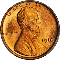 1910 Wheat Penny