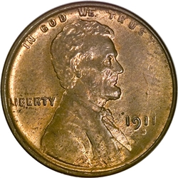 1911-S Wheat Penny