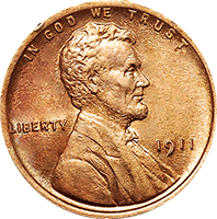 1911 Wheat Penny