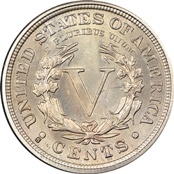 1912-S Liberty Head Nickel