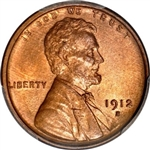 1912-S Wheat Penny