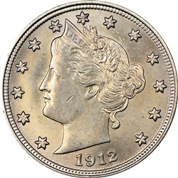 1912-P Liberty Head Nickel