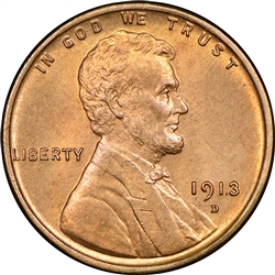 1913-D Wheat Penny