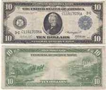 1914 $10 Federal Reserve Notes