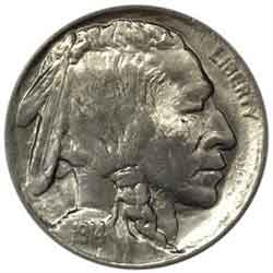 1914-P Buffalo Head Nickel Coins