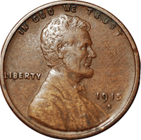 1915-D Wheat Penny