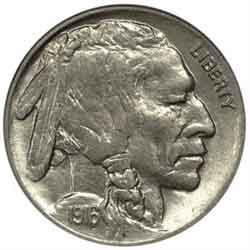 1916-D Buffalo Head Nickel Coins