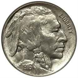 1916-P Buffalo Nickel | Indian Head Nickel Coins For Sale