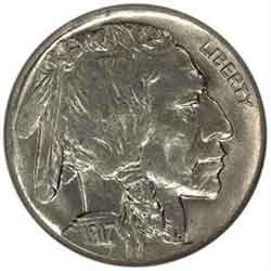 1917-D Buffalo Head Nickel Coins