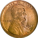 1917-D Wheat Penny