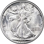 1917-P Walking Liberty Half Dollar