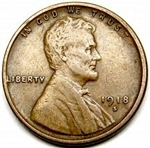 1918-S Wheat Penny