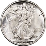 1918-P Walking Liberty Half Dollar