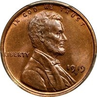 1919-D Wheat Penny