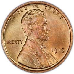 1919 Wheat Penny