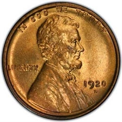 1920-D Lincoln Penny
