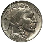 1921-S Buffalo Head Nickel Coins