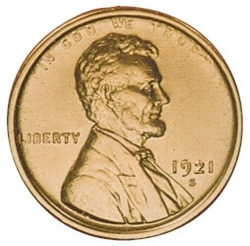1921-S Lincoln Penny