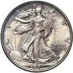 1921-P Walking Liberty Half Dollar