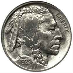1923-P Buffalo Head Nickel Coins