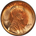 1923-P Lincoln Penny