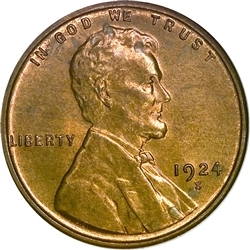 1924-S Lincoln Penny